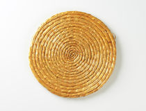 Wicker mat Royalty Free Stock Photography