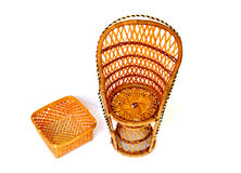 Wicker objects Royalty Free Stock Photos