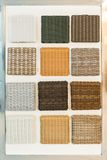 Wicker panels Royalty Free Stock Photo