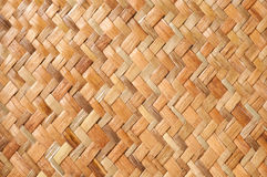 Wicker Pattern. From a real handmade box Royalty Free Stock Image