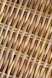 Wicker pattern. Light brown weaved texture in natural materials. Ideal design background Royalty Free Stock Photos