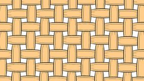 Wicker pattern background royalty free illustration