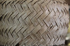 Wicker pattern of a basket Royalty Free Stock Photography