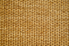 Wicker pattern of canes and yarns Stock Images