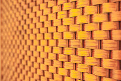 Wicker pattern, close-up shot Stock Images