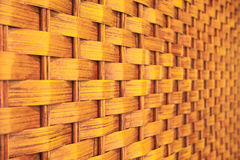 Wicker pattern, close-up shot Royalty Free Stock Photography