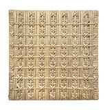 Wicker pattern isolated on the white Stock Photos