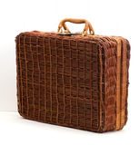 Wicker picnic basket. This is wicker picnic basket royalty free stock photos