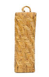 Wicker Pillow made from bamboo Stock Image