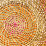 Wicker Placemat background texture Royalty Free Stock Images