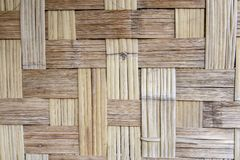 Wicker or rattan bamboo royalty free stock images