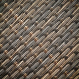 Wicker or rattan bamboo material Royalty Free Stock Photo