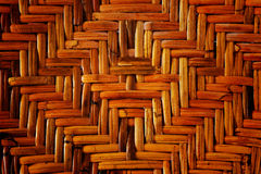 Wicker or rattan pattern Royalty Free Stock Photo