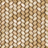 Wicker rattan seamless texture for CG Royalty Free Stock Images