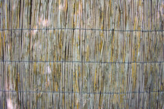 Wicker or reed background Royalty Free Stock Photo