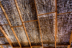 Wicker roof Royalty Free Stock Photos