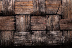 Wicker rough texture backgrounds concept horizontal view Stock Photography