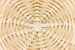 Wicker round close-up Royalty Free Stock Photo