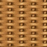 Wicker Seamless Background, Wooden Basket Textured Royalty Free Stock Photos