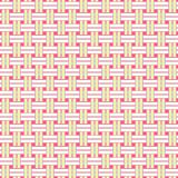 Wicker Seamless Pattern Stock Image
