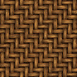 Wicker (Seamless texture) Royalty Free Stock Photos