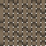 Wicker seamless texture Royalty Free Stock Photos