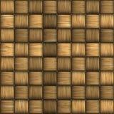 Wicker seamless texture. Stock Image