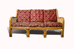 Wicker Sofa Stock Image