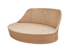 Wicker sofa Royalty Free Stock Photography