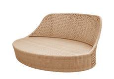 Wicker Sofa Royalty Free Stock Photography