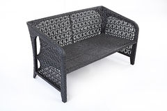 Wicker Sofa Stock Photos