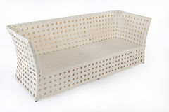 Wicker Sofa Royalty Free Stock Image