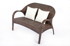 Wicker Sofa Stock Images
