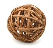 Wicker sphere Stock Images
