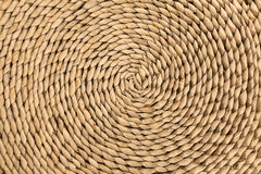 Wicker Spiral Texture Royalty Free Stock Photography