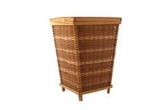 Wicker Storage Basket stock image