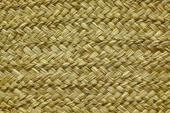 Wicker Straw Background Or Texture Stock Image