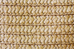 Wicker straw texture. Stock Photo
