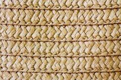 Wicker straw texture. Wicker straw texture close up stock photo