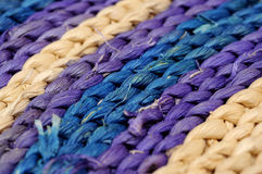 Wicker stripes Stock Image