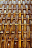 Wicker surface macro Stock Image