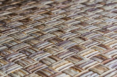 Wicker surface texture Royalty Free Stock Photos