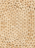 Wicker table cloth background Royalty Free Stock Photography