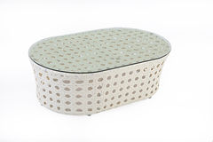 Wicker Table Stock Image