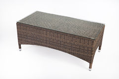 Wicker Table Royalty Free Stock Photography