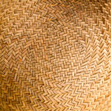 Wicker texture. Background. Wicker texture close-up photo. Circle royalty free stock image