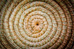 Wicker texture. Wicker basket texture made with circles stock images