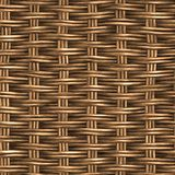 Wicker texture royalty free illustration