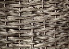 Wicker texture as background Royalty Free Stock Photos