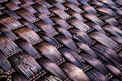 Wicker texture background Stock Photography